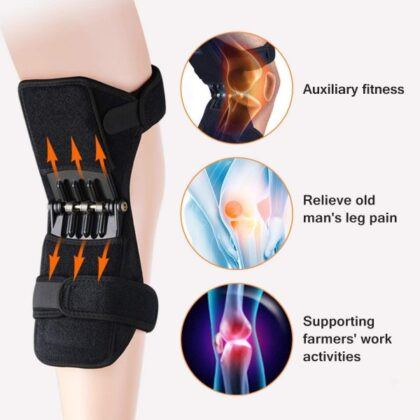 2 Pcs Power Knee Joint Support Pads (1600+200 Delivery Charges)