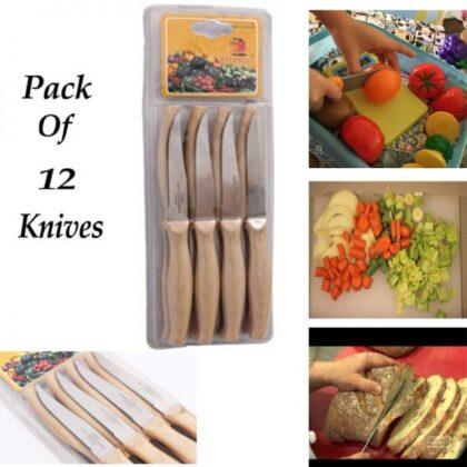 12 Pieces Knives Set