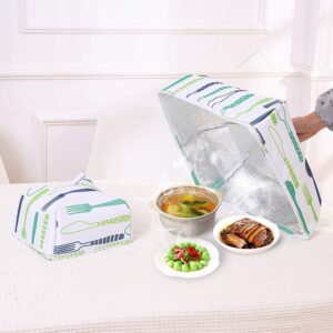 (SET OF 2 SIZES) INSULATION FOOD COVER